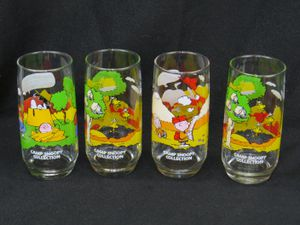 Set of 4 McDonalds Camp Snoopy Collection Glasses for Sale in Belmar, NJ