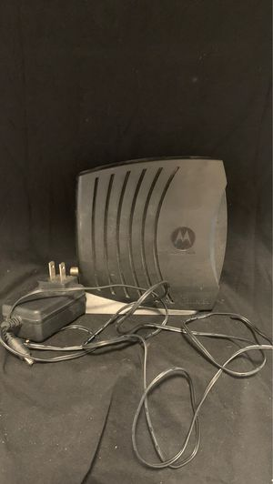 Motorola Surfboard Modem SB5101 with Power Cord Tested Works Great for Sale in Lemon Grove, CA