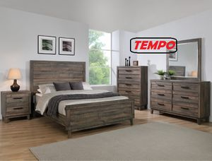 NEW IN THE BOX. TACOMA QUEEN BED ROOM GROUP, SKU# TB8280-SET for Sale in Huntington Beach, CA