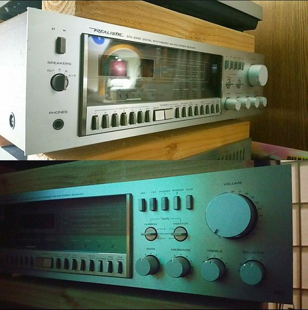 realistic sta 2290 receiver amp