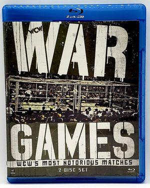 WWE: Best of War Games (Blu Ray, 2013, 2-Disc Set) WCW PPV Compliation Near Mint for Sale in Harrisonburg, VA