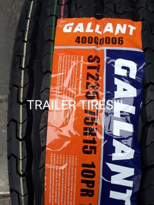 225 75 15 NEW TRAILER TIRE ST225/75R15 / 10PLY pick up ONLY!!! for Sale in Los Angeles, CA