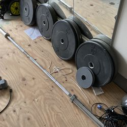Barbell And Olympic Plates And Weights for Sale in Durham,  NC