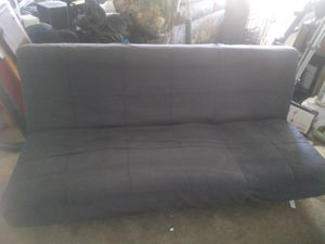 Black Soft Fabric Chase Lounge for Sale in Temecula, CA
