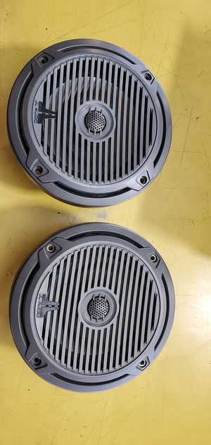 2 jl mx650 6.5 inch marine speakers for Sale in Fort Lauderdale, FL