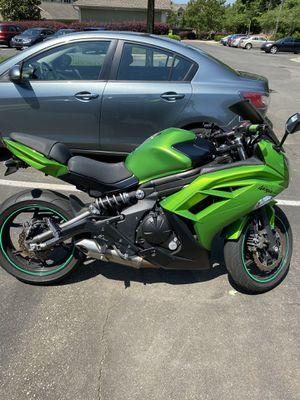 2012 Kawasaki Ninja EX650 for Sale in Durham, NC