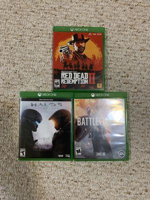 3 Xbox one games for Sale in Fairfax, VA