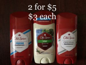 Old Spice Deodorant $3 each or 2 for $5 for Sale in Monterey Park, CA