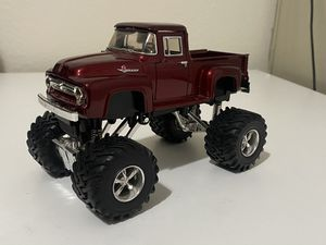 Diecast model 1956 Ford F-100 pickup Monster Truck 1:24 for Sale in Dewey, AZ