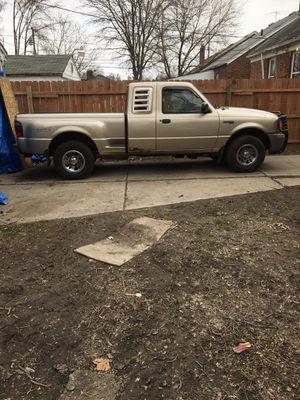 02 Ford Ranger 4x4 XLT for Sale in Detroit, MI