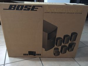 Bose acoustimass 16 series II also pioneer receiver for Sale in Fall River, MA