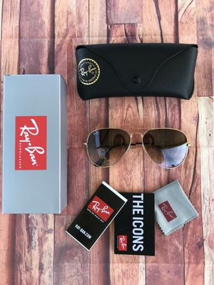 BRAND NEW AUTHENTIC RAY BAN AVIATOR😍 for Sale in Rialto, CA
