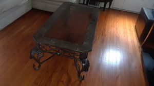 marble and glass table for Sale in Philadelphia, PA