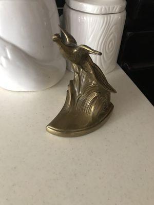 Brass Bird Figurine for Sale in Round Rock, TX