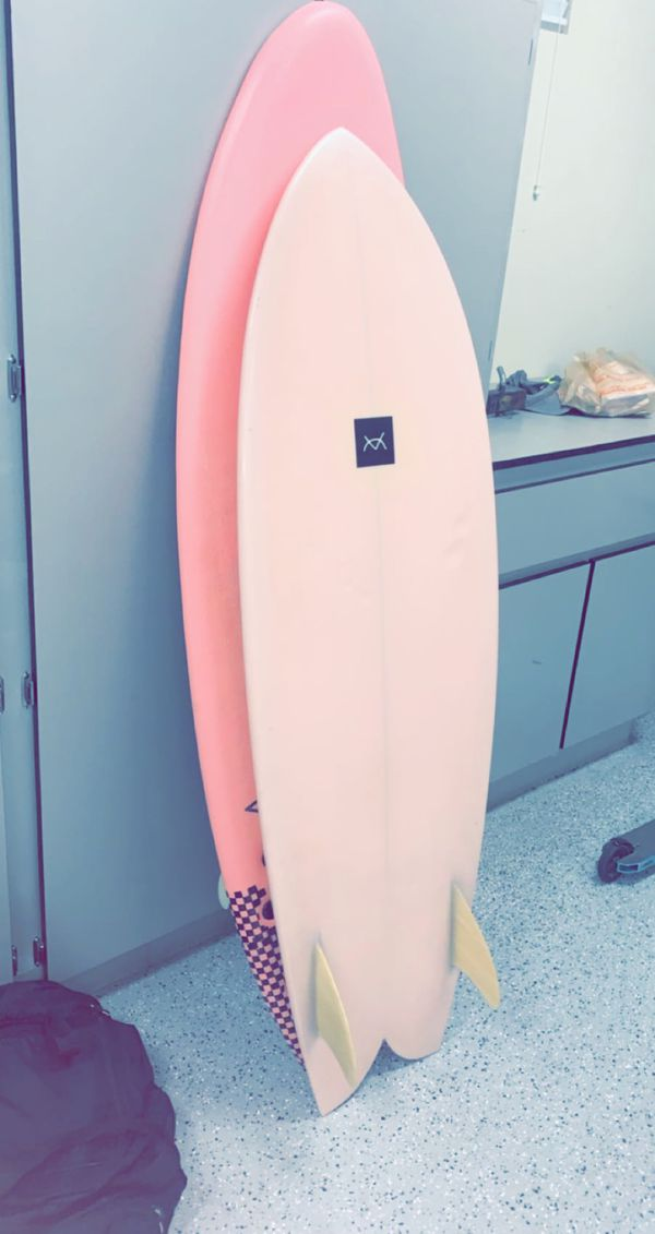 CAEV 5'6 Fish Surfboard