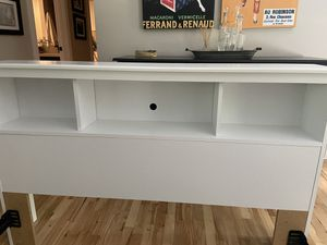 Full size Bookcase headboard for Sale in Gig Harbor, WA