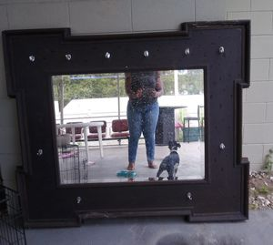 Pool Mirror with hooks to hang towels for Sale in Orlando, FL