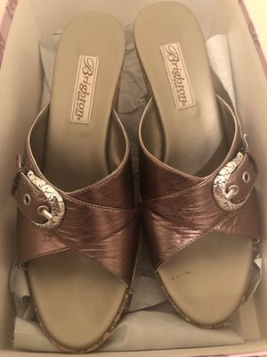 Brighton sandals. New in box never worn..Wedge heel, size 71/2 for Sale in Greensburg, PA