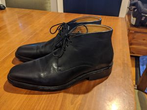Men's Cole Haan Black Leather Ankle High Boot for Sale in Seattle, WA