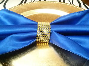 100 Gold Napkin Rings for Weddings for Sale in Winter Haven, FL