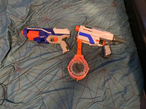 2 Nerf guns for Sale in Midlothian, IL