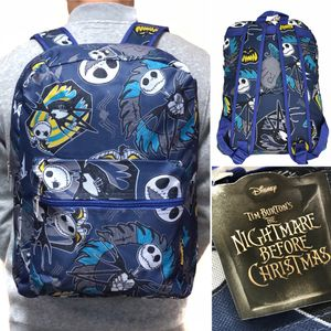 Brand NEW! Disney The Nightmare Before Christmas Backpack Jack Skellington sally work school book bag Disneyland Disney world for Sale in Carson, CA