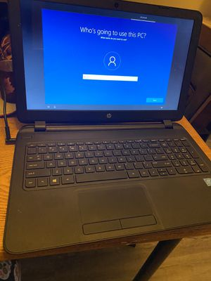 """HP Pavilion Notebook PC 15.6"""" Touchscreen for Sale in Tacoma, WA"""