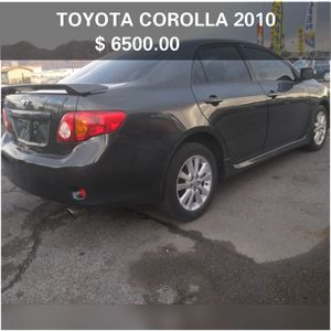 TOYOTA COROLLA 2010✔️ 130000 MILES🆗 SMOG READY IN HAND 💯 4 CILINDERS✳️ CLEAN TITLE🆗 NO MECHANICAL ISSUES💯 IT RUNS GOOD* HABLO ESPAÑOL for Sale in Las Vegas, NV