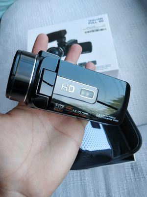 Camcorder Video Camera Kimire HD 1080P 16X Powerful Digital Zoom Camera with Microphone and Wide Angle Lens 3.0 Inch Screen 24 MP for Sale in Seattle, WA