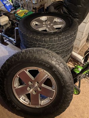 Rim and tires for Sale in Durham, NC