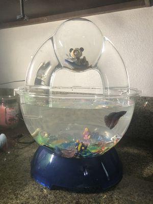 Betta Fish BioBubble Tank W/ Extras for Sale in Yorba Linda, CA