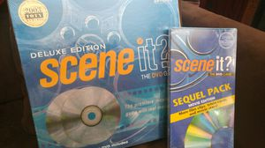 Scene It Board Game with Sequel Pack BNIB for Sale in Cary, NC