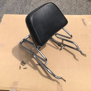 Honda CB motorcycle luggage rack backrest for Sale in Brentwood, NC