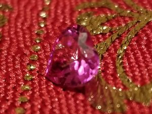 1 ct heart cut ruby for Sale in Victorville, CA