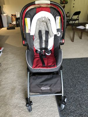 Graco- car seat snugride 35 with travel system for Sale in Atlanta, GA