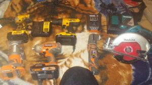 Cordless power tool bundle for Sale in Stockton, CA