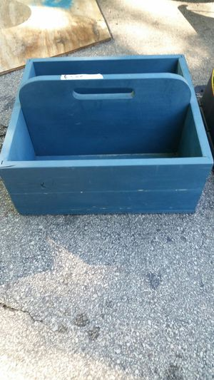 Wood gardener box, tool box , whatever use for Sale in Greenville, WI