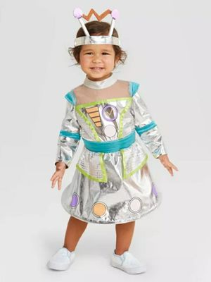 Baby Robot Halloween Costume Dress with Headband - Hyde & EEK! Boutique for Sale in Los Angeles, CA