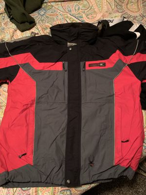 Spyder jacket, pants. With gloves and goggles for Sale in Benton Harbor, MI