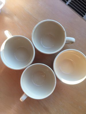 Great Deal!!! Set of 4 American Life Ceramic coffee/tea Cups for Sale in Washington, DC