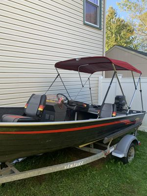 1989 Astro 16' fishing boat with trailer for Sale in Westminster, MD