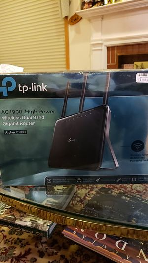 AC1900 High Power Wireless Dual Band Gigabit Router for Sale in Park Ridge, IL