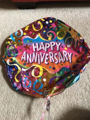 Anniversary balloon with clip for Sale in Falls Church, VA