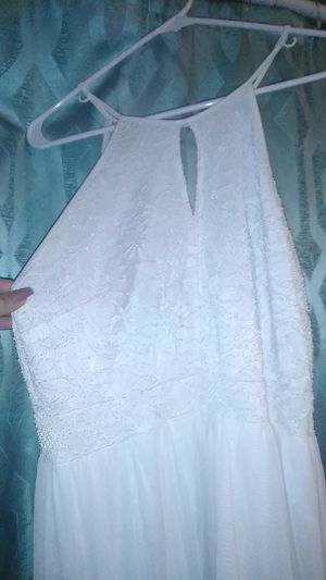 Beautiful white long dress for Sale in Vancouver, WA
