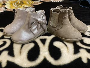 Toddler girl shoes/ boots for Sale in Pasadena, TX