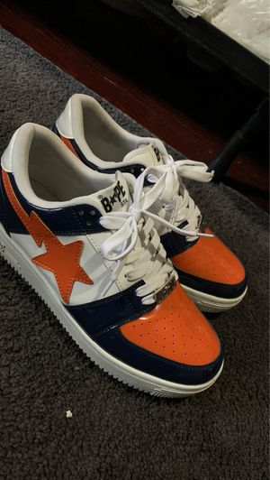 bape star shoes size 9 1/2 for Sale in Washington, DC