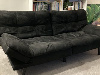 Adjustable Futon, Black, Barely Used for Sale in Los Angeles,  CA