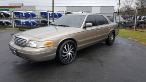 2003 Crown Victoria on 22s for Sale in Charlotte, NC
