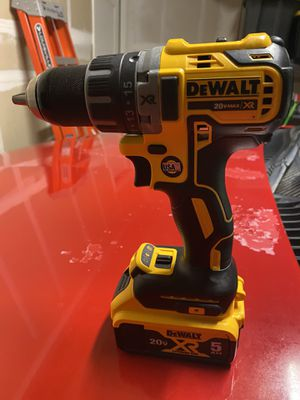 Dewalt XR 20v Drill/Driver With 5AH Battery Brand New for Sale in Patterson, CA