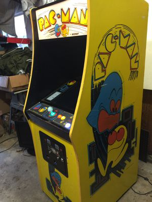 Yellow Pac-Man multigame arcade 60-1 for Sale in Olympia, WA